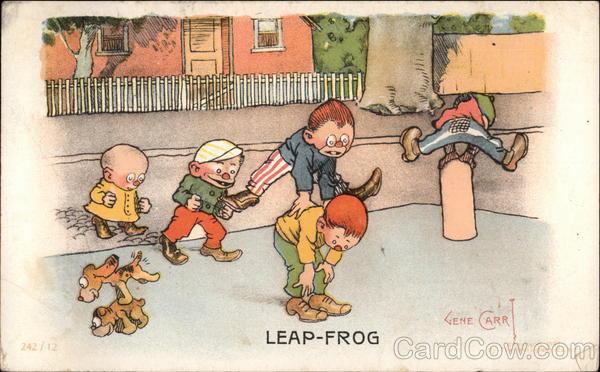 Leap-Frog Gene Carr Children