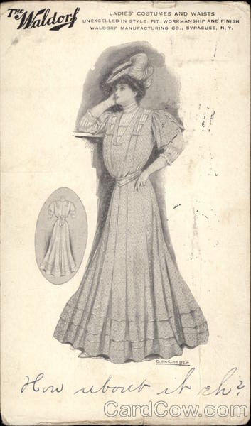 Ladies' Costumes and Waists Advertising