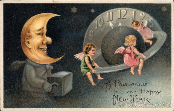 A Prosperous and Happy New Year Angels & Cherubs