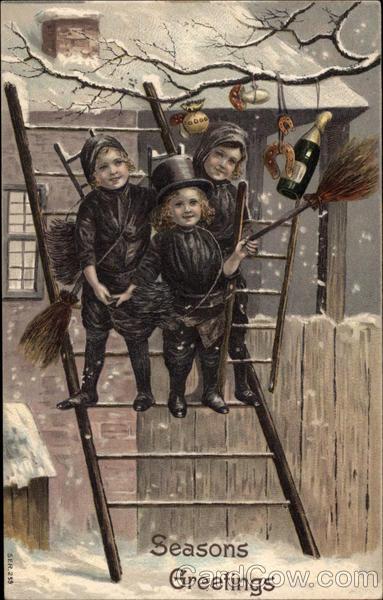 3 Chimney Sweep Children