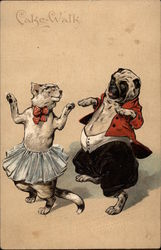 Cake-Walk - Cat and Dog Dancing