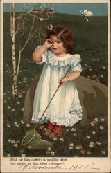 Child After Butterfly