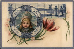 Child with Dutch Tiles