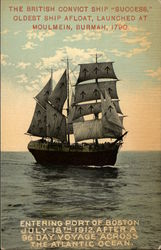 "The British Convict Ship ""Success"""