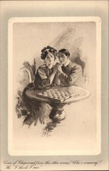 Couple at Gaming Table