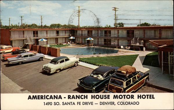 Americana Ranch House Motor Hotel Denver Co