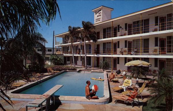 Rovoera Apartment Motel Clearwater Beach Florida