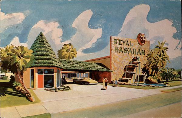 Royal Hawaiian Motel Daytona Beach Florida