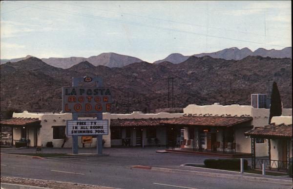 La Posta Motor Lodge El Paso Tx