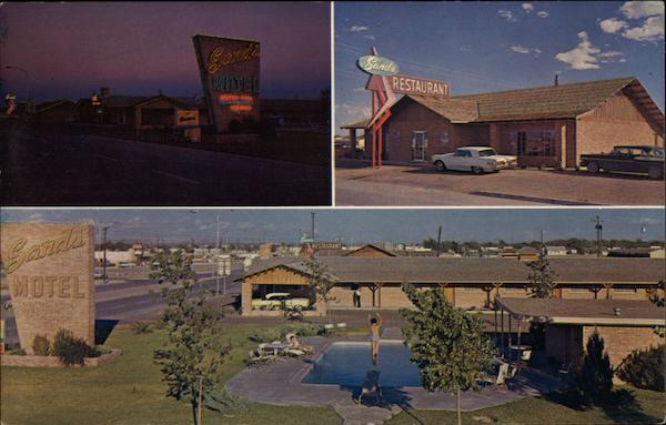 Sands Motel Restaurant Fort Stockton Tx