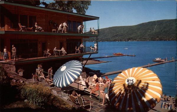 Lake Crest Motel and Cabins Lake George New York