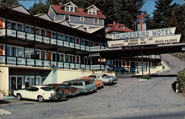 Thunderbird Motor Inn - Overlooking the Lake Lake Placid New York