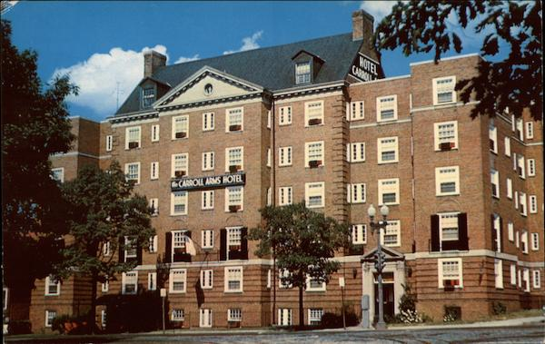 Washington Dc Hotels >> Carroll Arms Hotel Washington, DC Washington DC