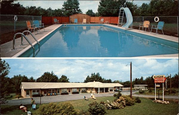Bon Air Motor Lodge Pocono Summit Pennsylvania