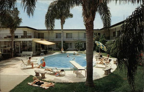 Quality Courts Motel St. Petersburg Florida