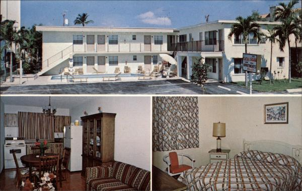 Catalogna Apartment Motel Fort Lauderdale Florida