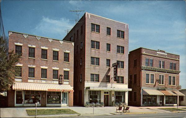 Davis Hotel and Apartments Columbia South Carolina