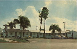 El Patio Motel Postcard