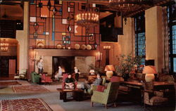 The Great Lounge of the Ahwahnee Hotel - Yosemite National Park