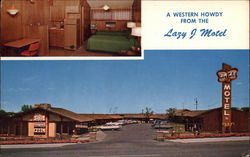A Western Holiday from the Lazy J Motel