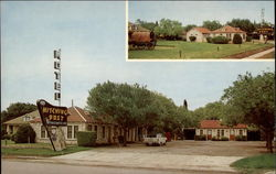 Hitching Post Motel Postcard