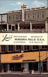 Louis' Restaurant and Cafeteria - Niagara Falls, U.S.A