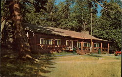 Roosevelt Lodge at Junction of North-East Entrance Road - Yellowstone National Park