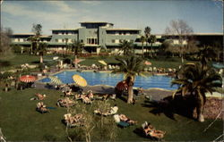 View of the Grounds of the World Famous Flamingo Hotel
