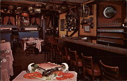 The Cape Cod Room in The Drak Postcard