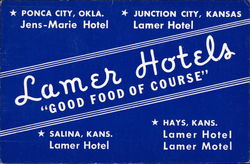 Lamer Hotels - Good Food of Course
