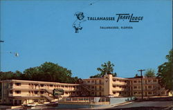 Tallahassee TraveLodge Postcard