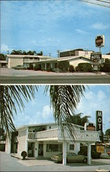 Three Oaks Motel Postcard