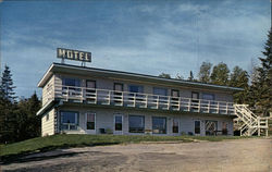 Spruce Point Motel Postcard
