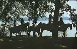 Trail Rides Along the Shores of Lake Pepin - Camp Villa Maria