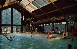 Tropical Pool, The Curtis Hotel and Motor Lodge
