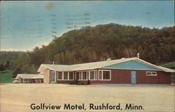 Golfview Motel Postcard