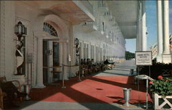 Porch of the Grand Hotel