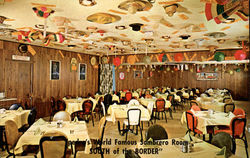 Pedro's World Famous Sombrero Room - South of the Border