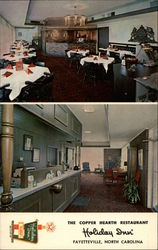 The Copper Hearth Restaurant - Holiday Inn of Fayetteville Postcard