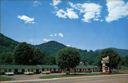 Star Motel Postcard