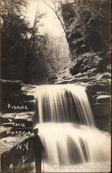 Pinnacle Falls Moravia New York