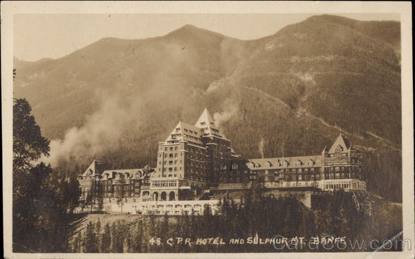 Banff Springs Hotel and Sulphur Mountain Alberta Canada
