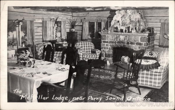 The McKellar Lodge Parry Sound Ontario