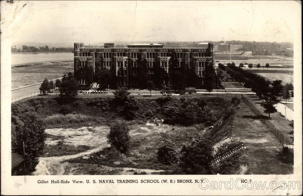 US Naval Training School Bronx New York