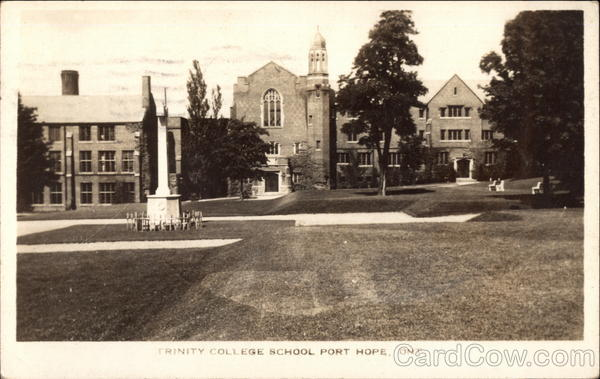 Trinity College School Port Hope Canada Ontario