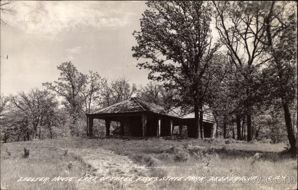 Shelter House at Lake of Three Fires State Park Bedford Iowa