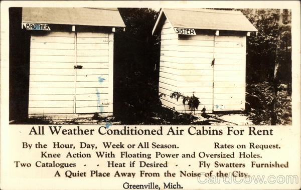 All Weather Conditioned Air Cabins For Rent Greenville Michigan