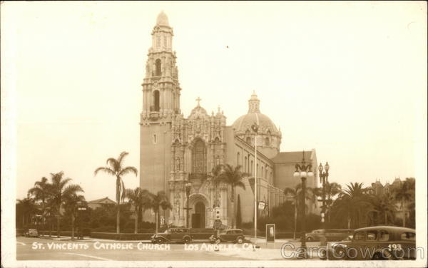 St. Vincents Catholic Church Los Angeles California