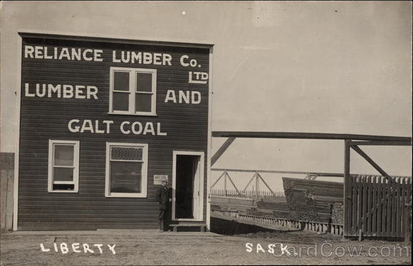 Reliance Lumber Co. Ltd Liberty SK Canada Saskatchewan