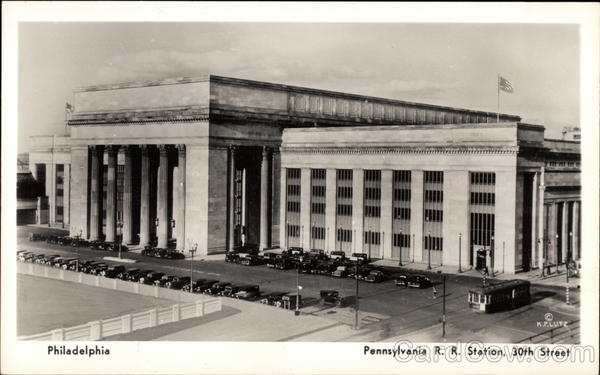 Pennsylvania RR Station, 30th Street Philadelphia